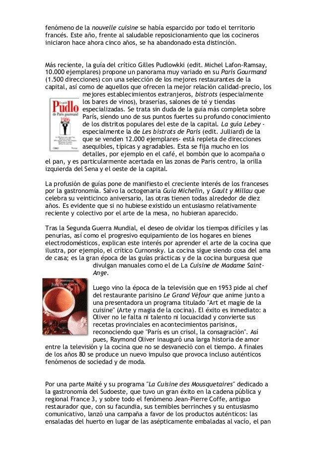 Dosier s taller cocina étnica y criolla teoria