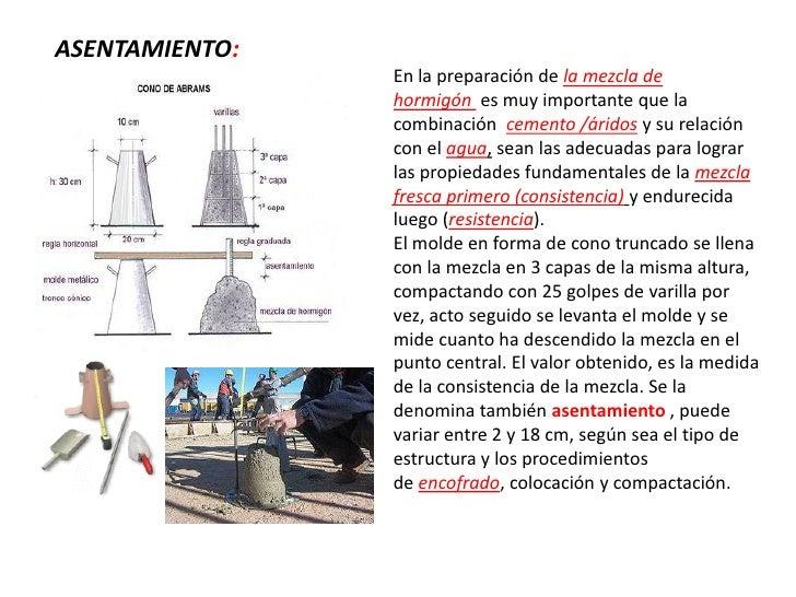 Dosificación de morteros y concretos Slide 2