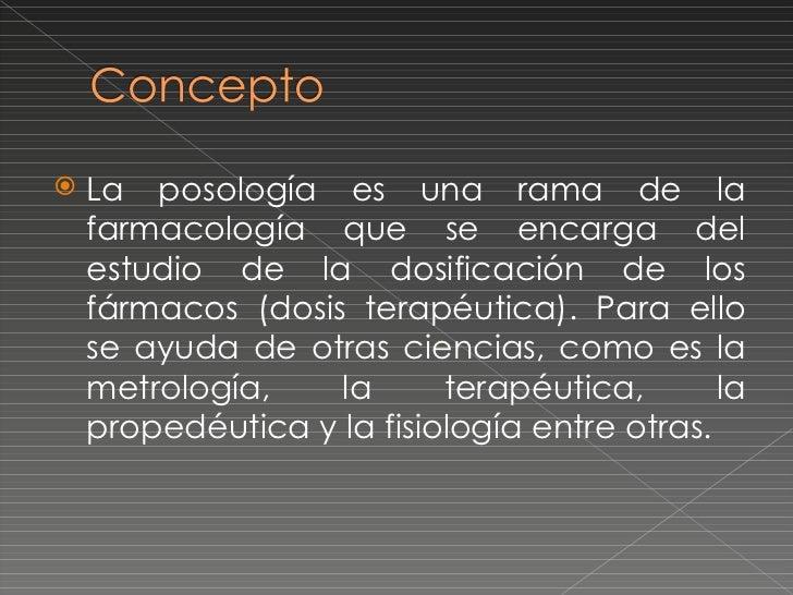 Dosificacion de medicamentos Slide 2