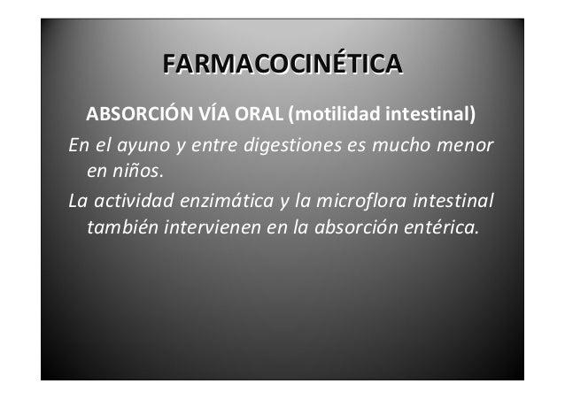 FARMACOCINÉTICA               ABSORCIÓNRECTALMuy útil si el paciente no puede ingerir el  medicamento. La supe...