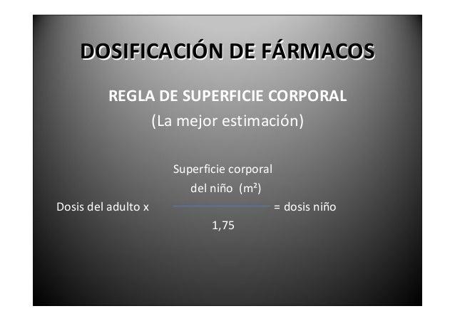 CÁLCULODELASUPERFICIE    CORPORALDELNIÑO   NomogramaParaelcálculodela superficiecorporal.