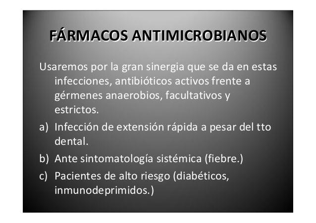 FÁRMACOSANTIMICROBIANOSNosuelehacerseantibiogramanitomade   muestrasparalaeleccióndelantibióticomás   óptim...