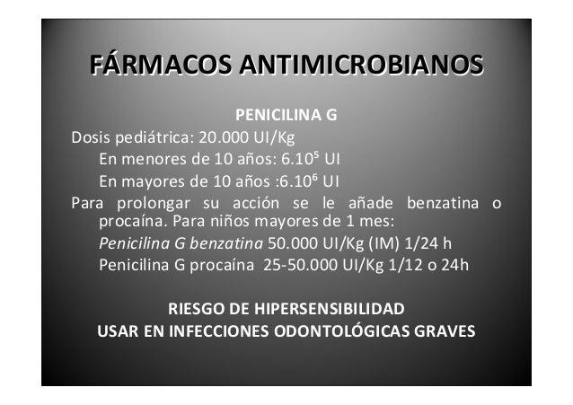 FÁRMACOSANTIMICROBIANOS