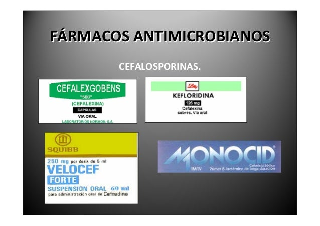 FÁRMACOSANTIMICROBIANOS                       MACRÓLIDOSElmásusadoeslaeritromicina deespectrosimilaralaPenicili...