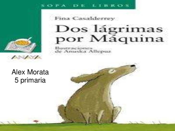 <br />Alex Morata<br />5 primaria<br />
