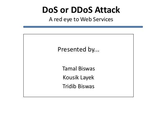 DoS or DDoS attack