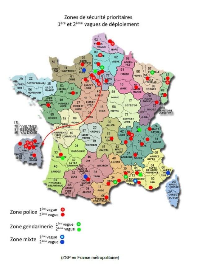 Créations de 9 nouvelles zones de sécurité prioritaires en Rhône-Alpes