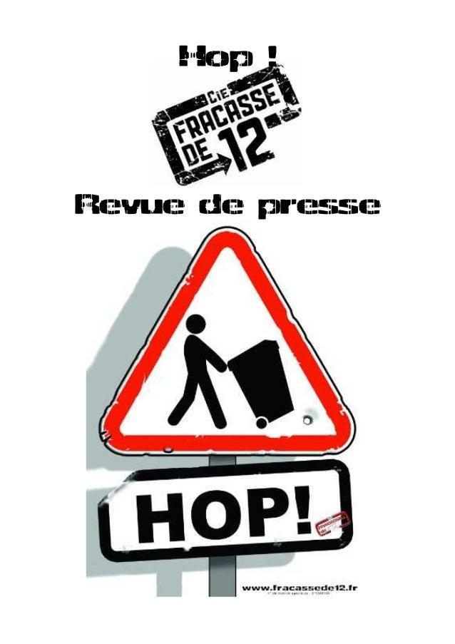 Hop ! Revue de presse