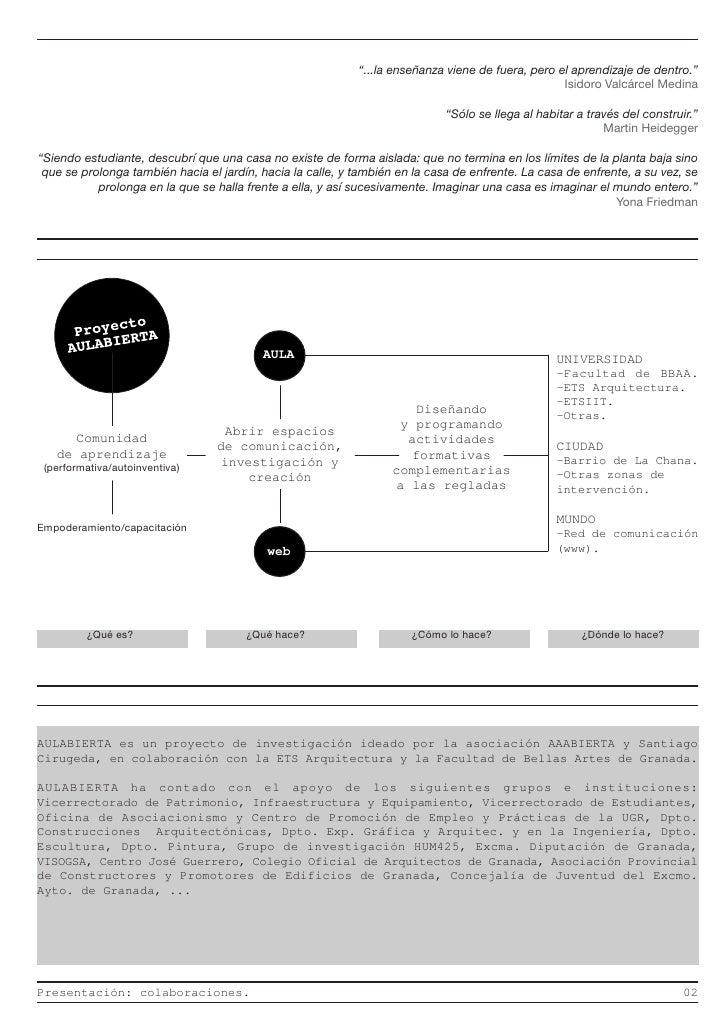 Dossier aulabierta for Oficina de practicas ugr
