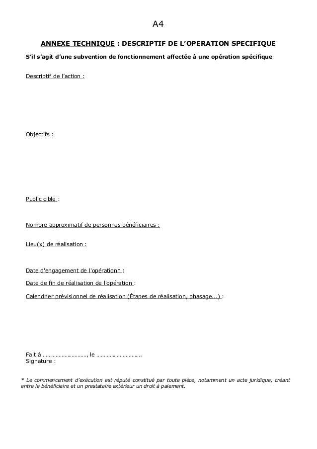 teaching dossier template - dossier de demande de subvention type