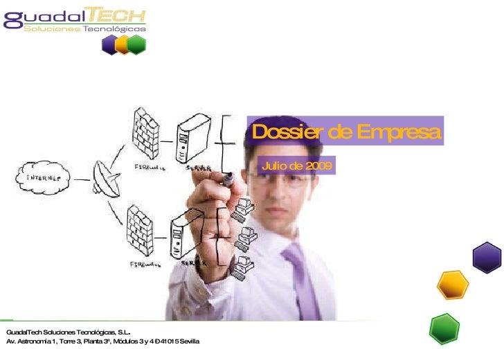 Dossier de Empresa Julio de 2009