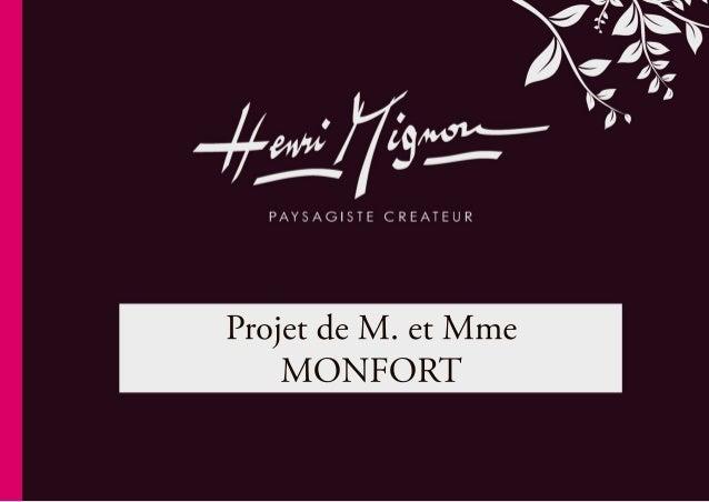 ProjetdeM.etMme MONFORT