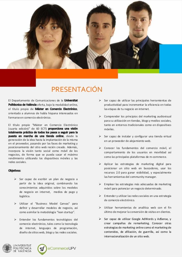 Dossier master en-comercio_electronico Slide 3