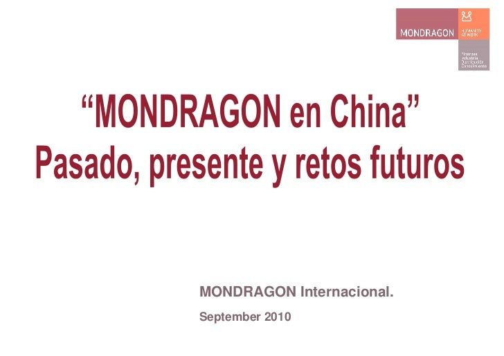 Dossier Mondragon en China.pdf