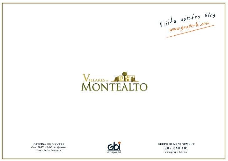 Dossier Villares De Montealto
