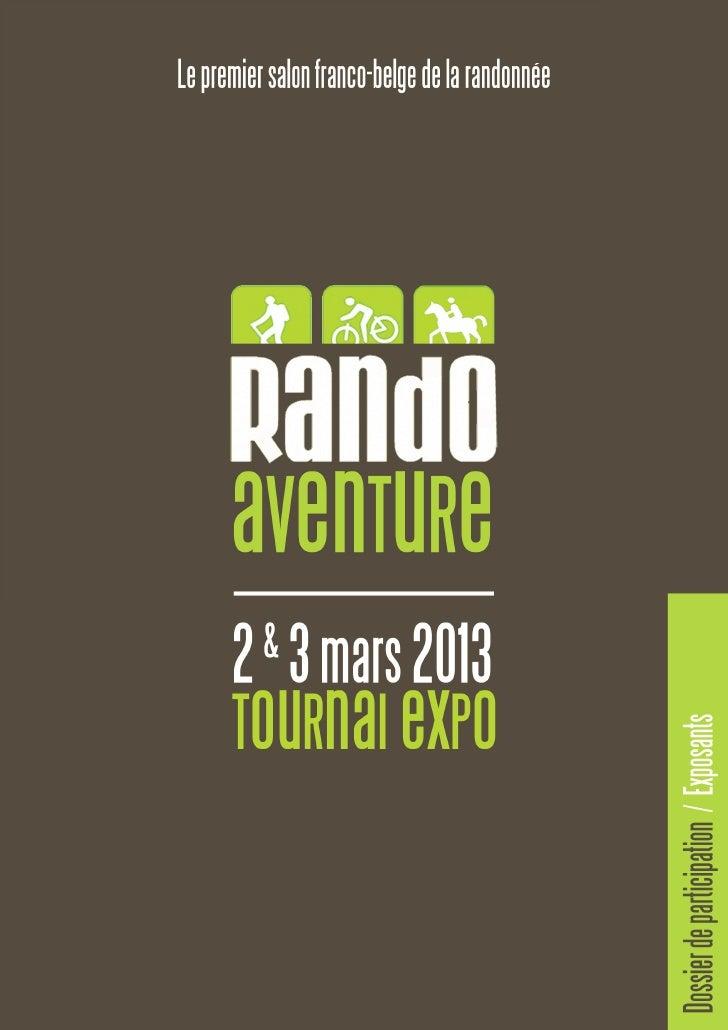 Devenir exposant à Rando Aventure.