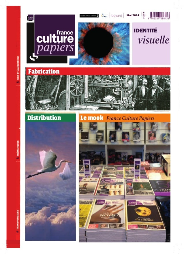 Le mook France Culture PapiersDistribution Fabrication Mai 2014 IDENTITÉ visuelle