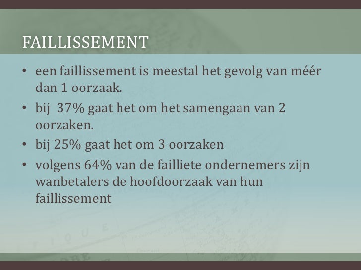 business plan opstellen unizo faillissementen