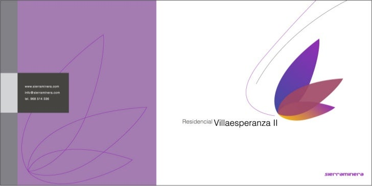Dossier 2 promocional residencial villaesperanza ii