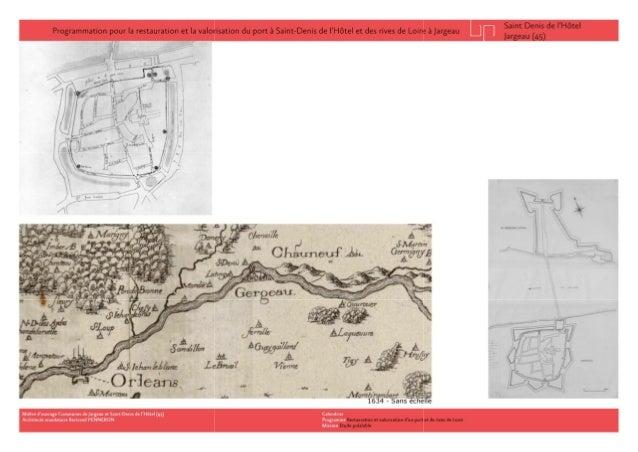 Réhabilitation et valorisation d'un port de Loire Slide 3