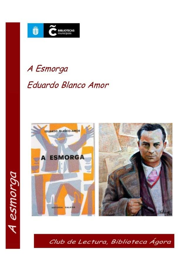 A Esmorga Eduardo Blanco Amor
