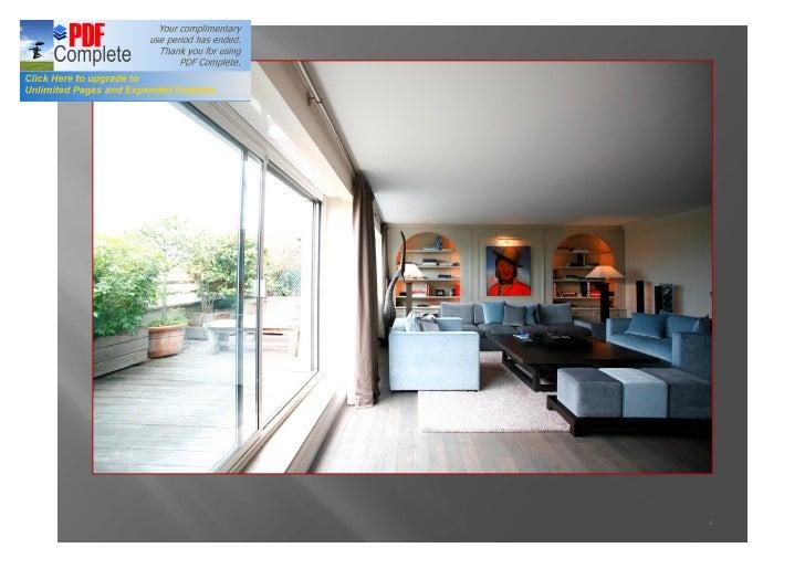 Paris vente appartement terrasse victor hugo for Vente terrasse paris