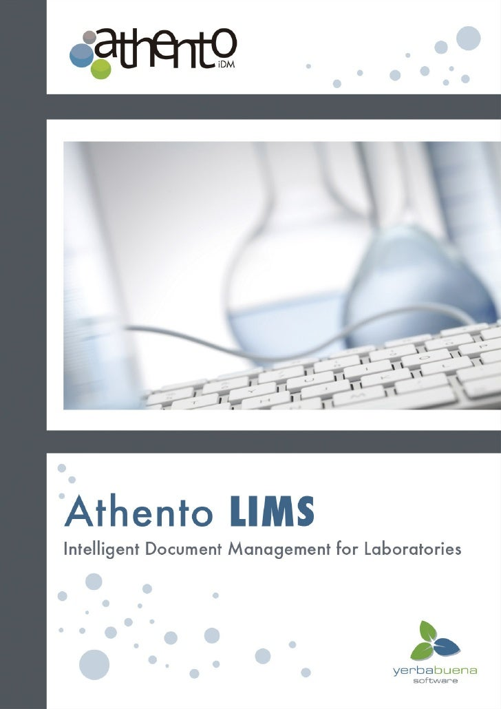 Why is lab management complicated?          Manual work arising from the management of data is expensive.          There i...