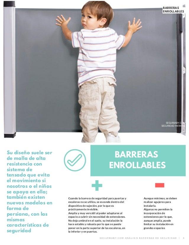 Dossier barreras de seguridad para puertas y escaleras - Barreras seguridad escaleras ...