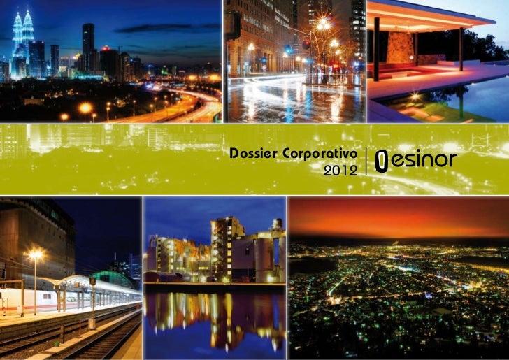Dossier Corporativo              2012