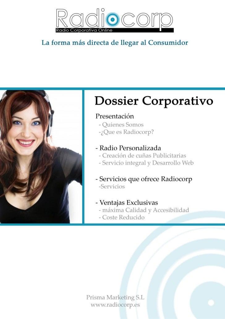 Dossier Corporativo Radiocorp