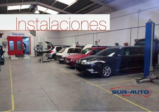 Dossier Corporativo Sur Auto Taller Chapa Y Pintura Sevilla