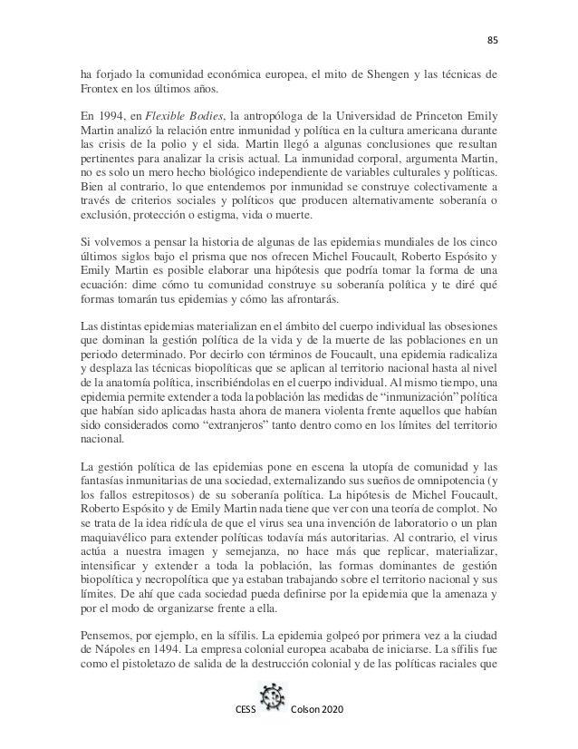 Dossier covid19 impactos socioculturales de la pandemia
