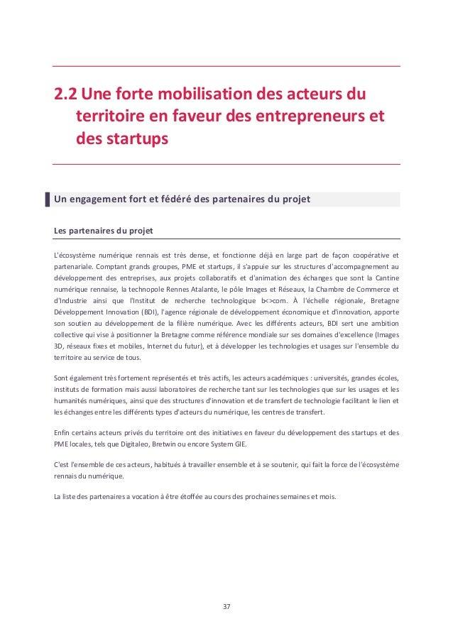 Dossier de candidature french tech rennes for Chambre de commerce de rennes