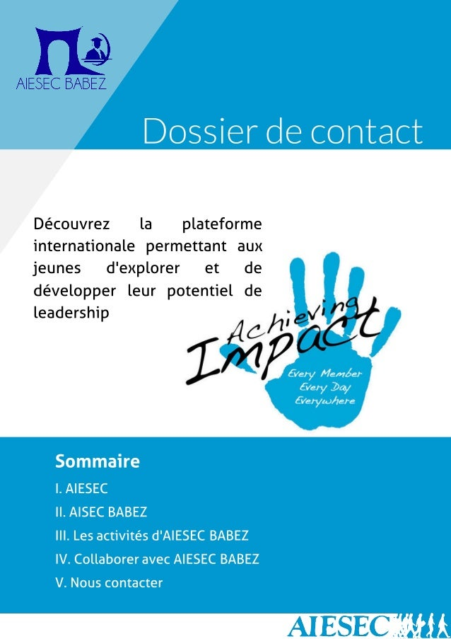 Get in touch with AIESEC BABEZ