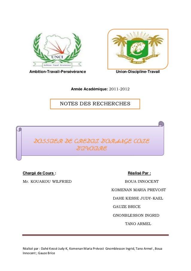 Ambition-Travail-Persévérance                            Union-Discipline-Travail                               Année Acad...