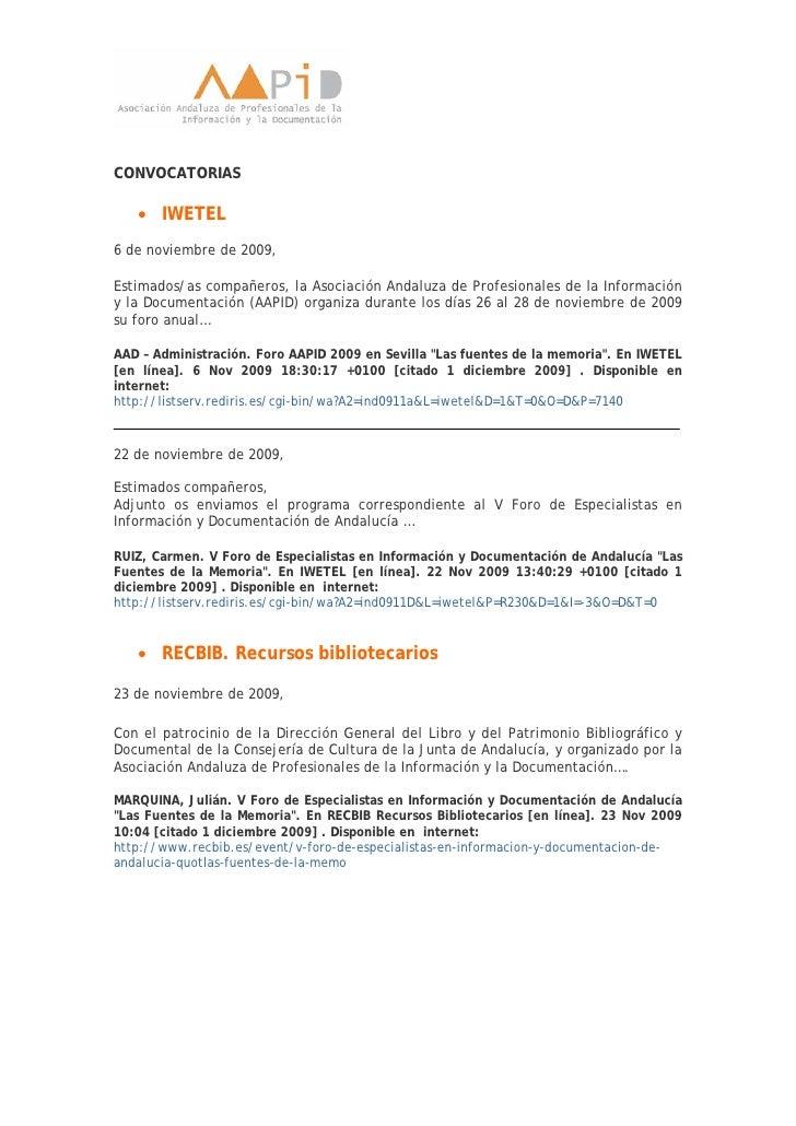 Dossier de noticias del V Foro de la AAPID Slide 3
