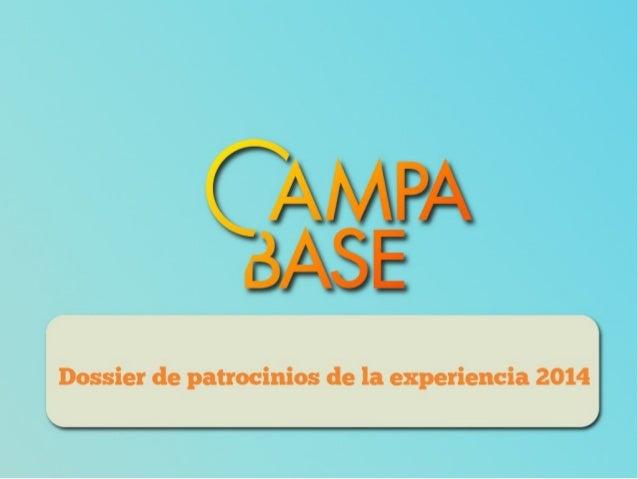 Dossier de patrocinios de Campabase 2014