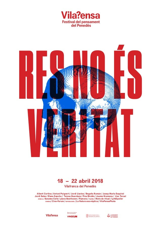 18 – 22 abril 2018 Vilafranca del Penedès Albert Cortina / Antoni Puigvert / Jordi Llavina / Begoña Román / Josep Maria Es...