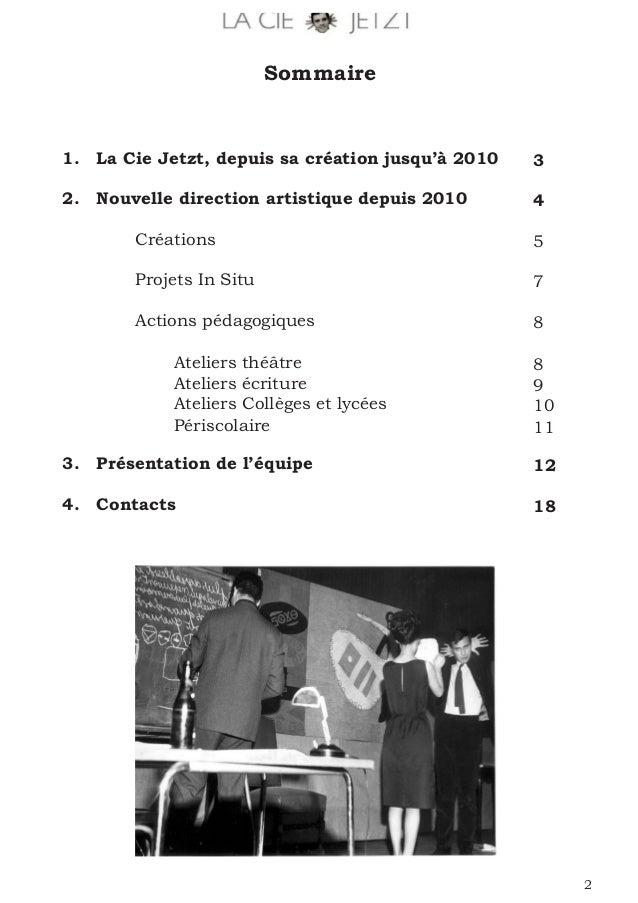 Dossier de présentation cie 2016 Slide 2