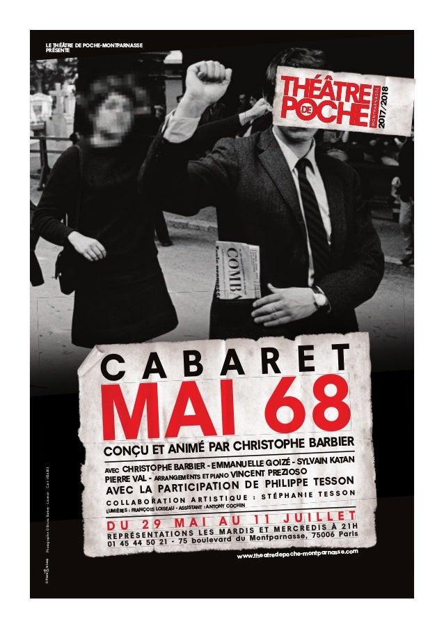 2017/2018 Photographie©BrunoBarbey-Licence:Cat1-1056303LE THÉÂTRE DE POCHE-MONTPARNASSE PRÉSENTE www.theatredepoche-montpa...