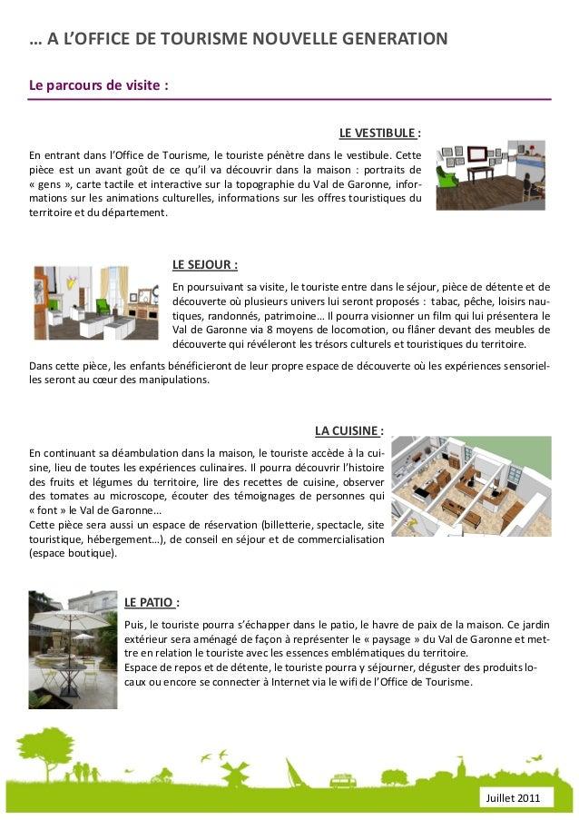 Dossier de presse office de tourisme du val de garonne - Office tourisme haute garonne ...