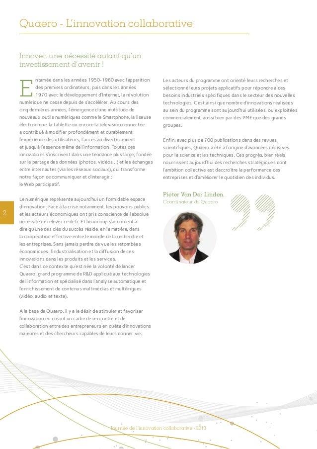Quaero - L'innovation collaborative  Slide 2