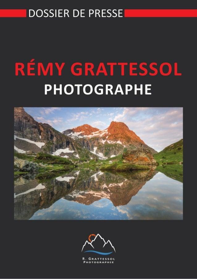 Dossier de presse   Rémy Grattessol Photographe