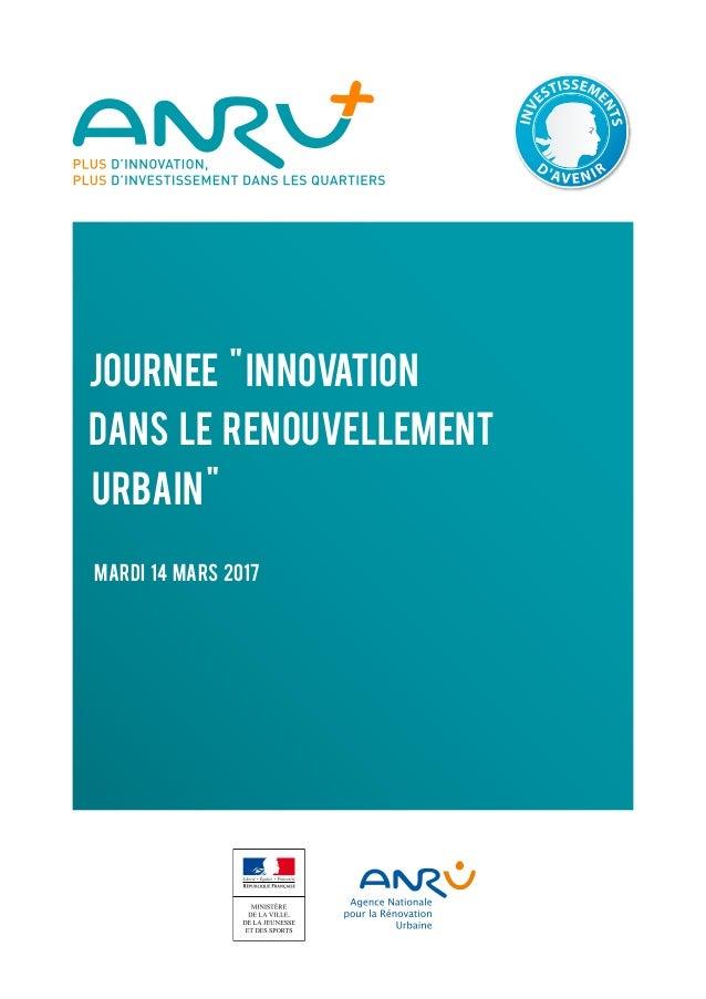 rénovation urbaine innovation