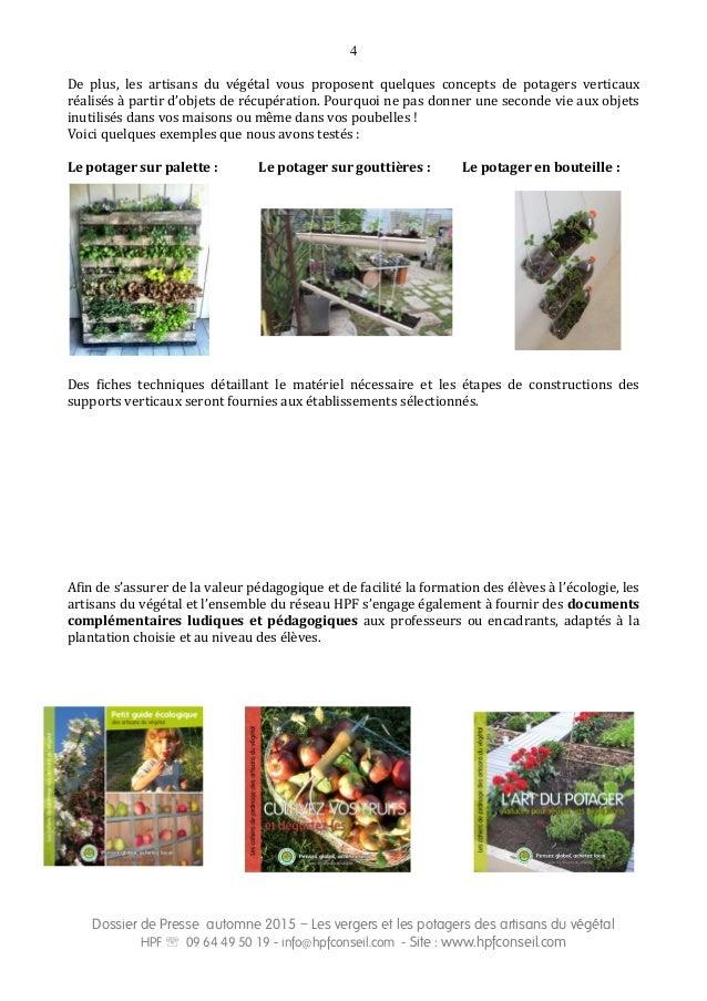 Les jardins pédagogiques et nourriciers des Artisans du végétal