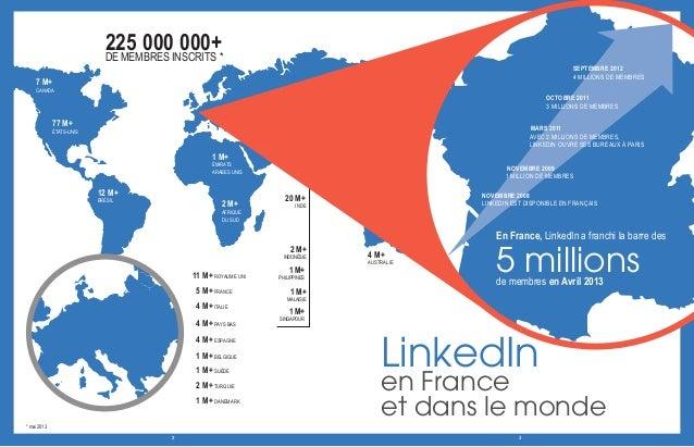 Dossier de presse - LinkedIn France - Juin 2013 Slide 3
