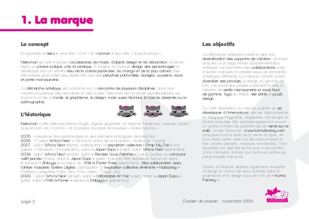 Super Dossier de presse Nekomori GD03