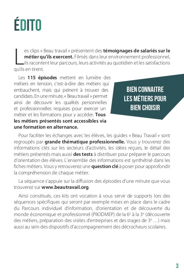 "Häufig Dossier de presse ""Semaine Ecole Entreprise 2014"" BU83"