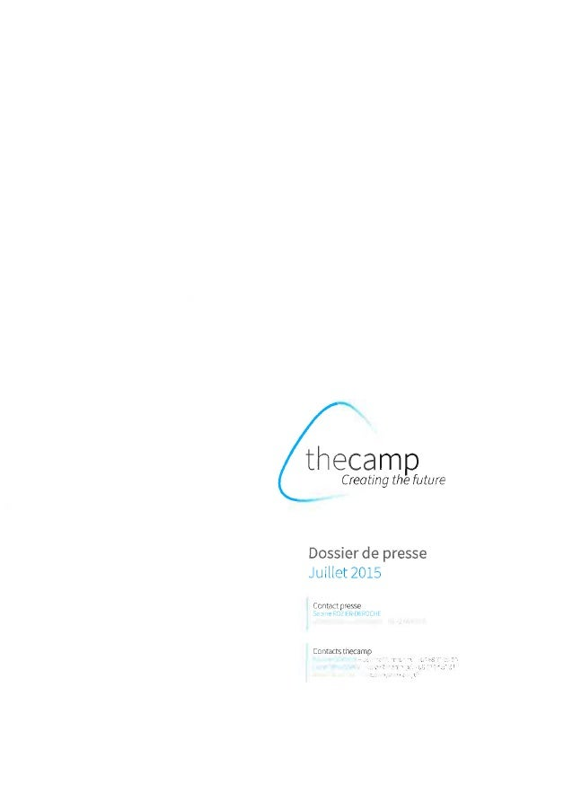 THE CAMP : Dossier de presse