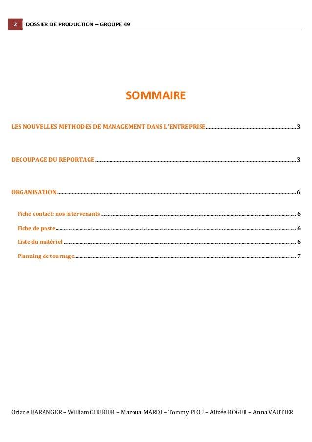 Sustainable Performance - Dossier de production - Groupe 49 Slide 2